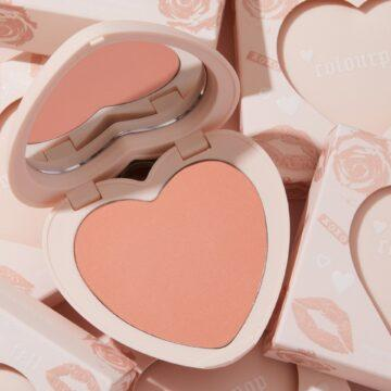 Colourpop Cosmetics Valentine's Day Collection 2021 Pressed Powder Blush in Kiss N Tell