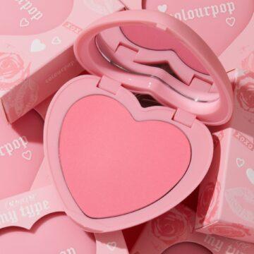 Colourpop Cosmetics Valentine's Day Collection 2021 Pressed Powder Blush in My Type
