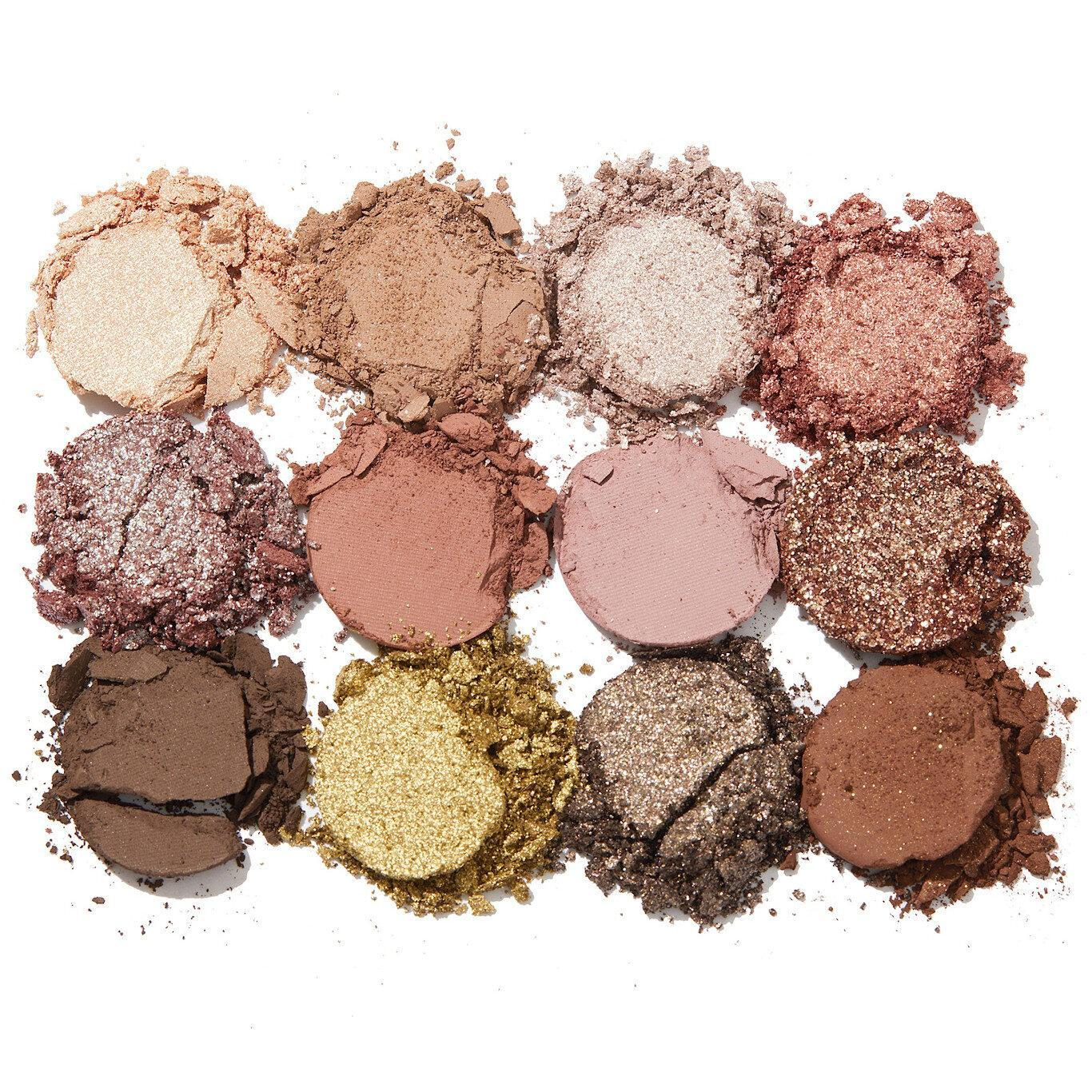 ColoutPop Cosmetics Melrose Collection Off Melrose Eyeshadow Palette Crash Swatches