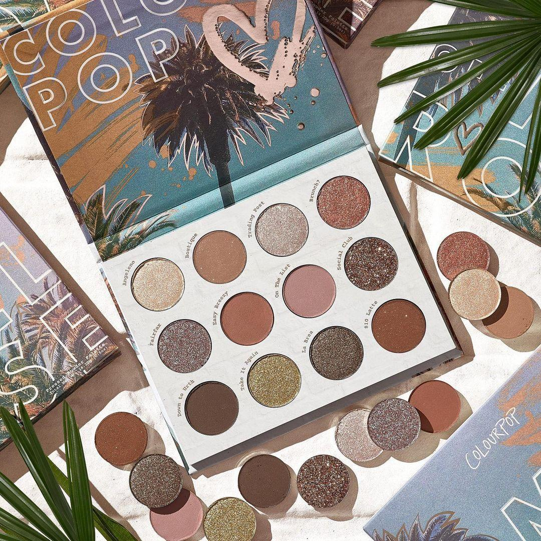 ColoutPop Cosmetics Melrose Collection Off Melrose Eyeshadow Palette Promo