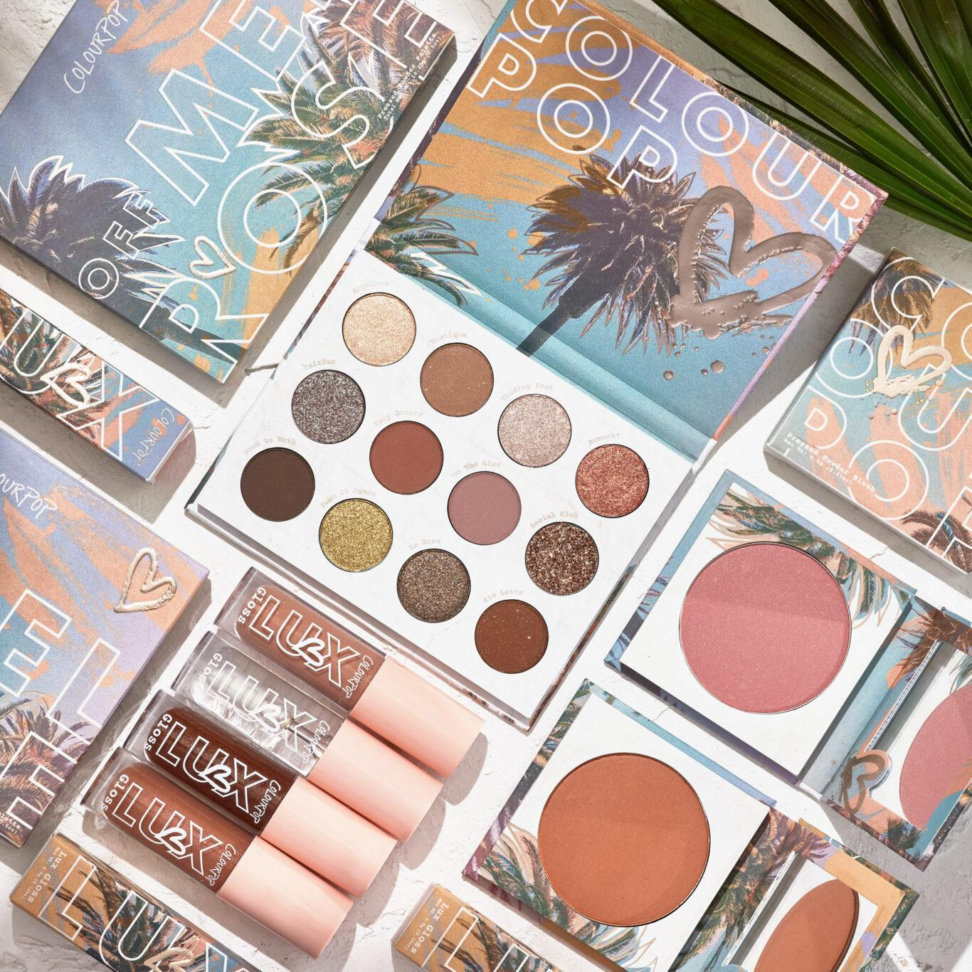 ColoutPop Cosmetics Melrose Collection Promo Post Cover