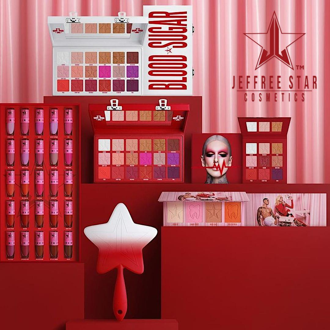 Jeffree Star Cosmetics Cavity Palette & Blood Sugar Anniversary Collection Promo Post Cover