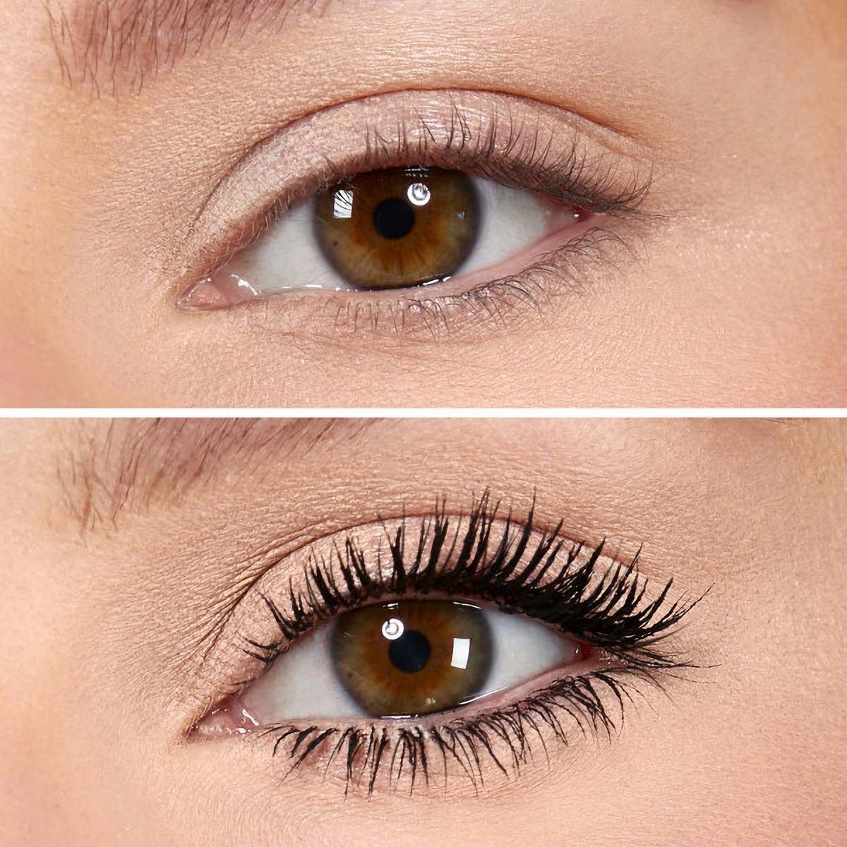 Nabla Cosmetics Vicious Mascara Before & After