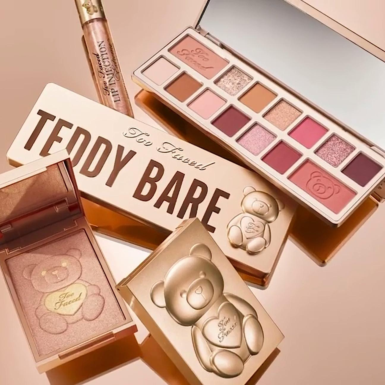 Too Faced Teddy Bare Collection Collection Promo Video
