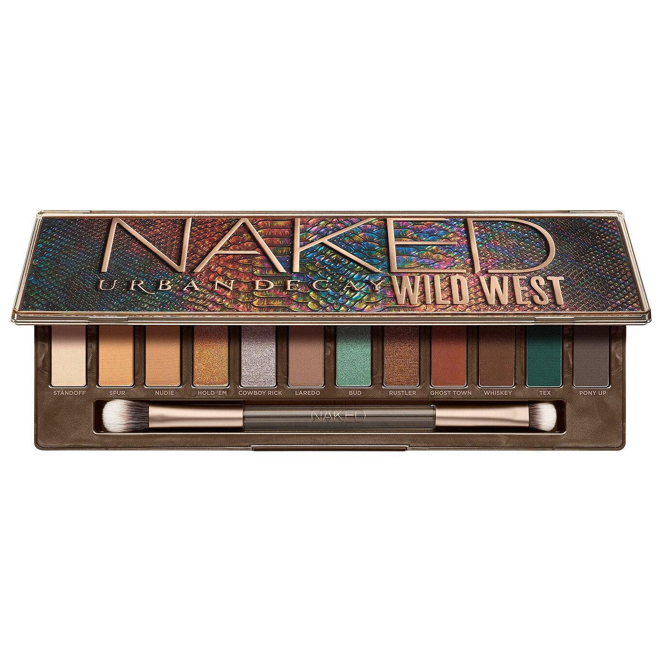 Urban Decay Naked Wild West Eyeshadow Palette Semi Open