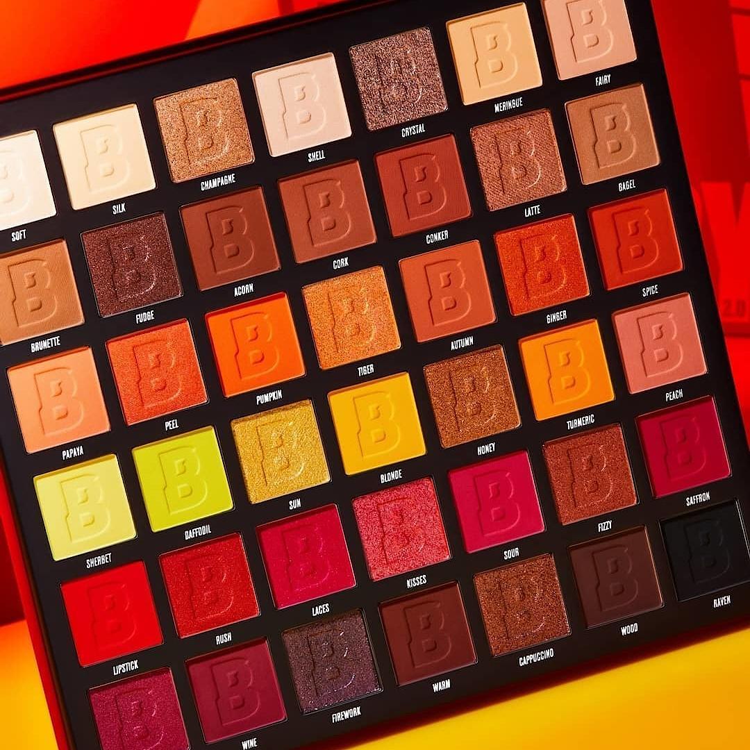 Beauty Bay Fiery 2.0 42 Colour Palette Open Promo