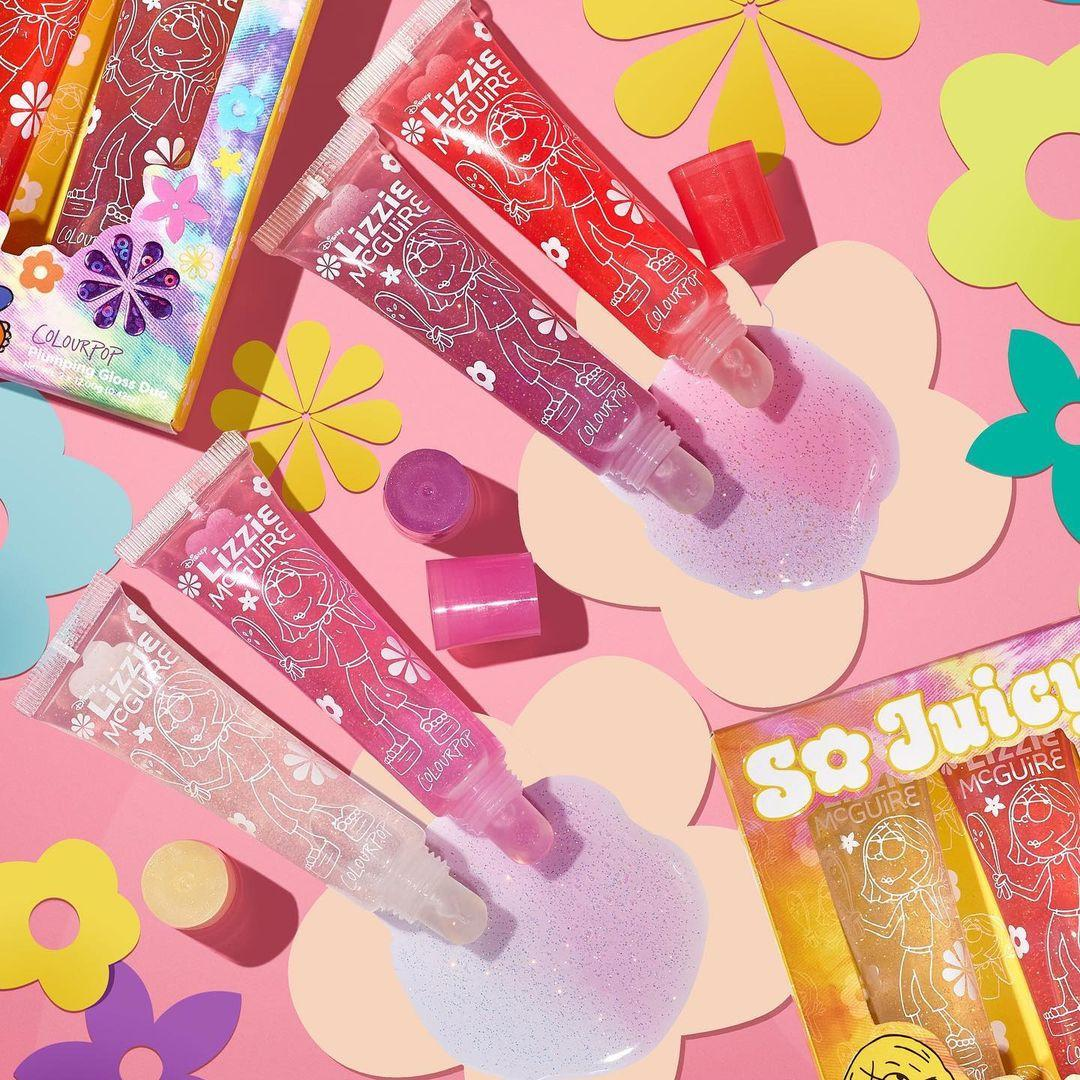 ColourPop Disney Lizzie McGuire Collection So Juicy Plumping Glosses