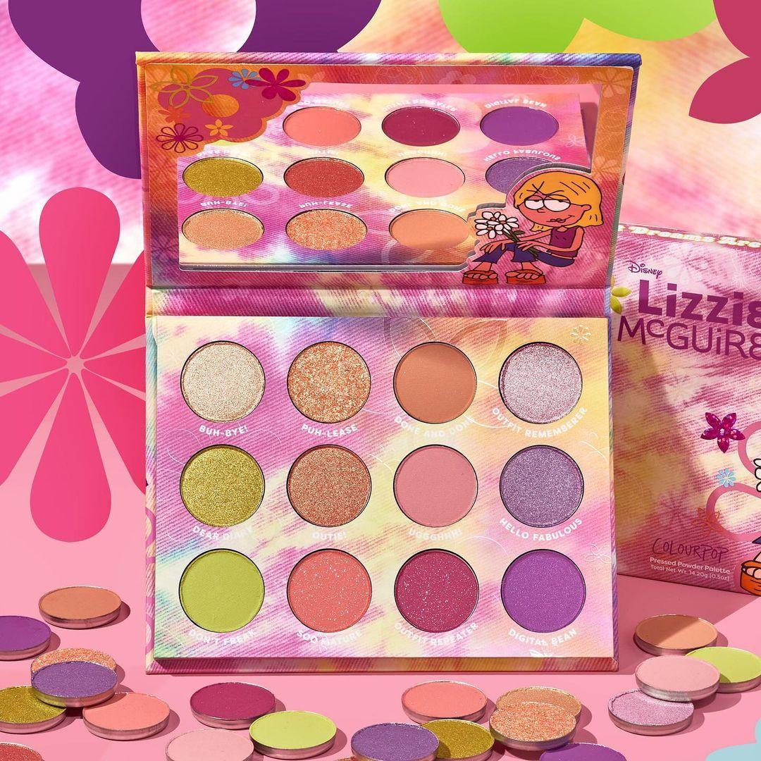 ColourPop Disney Lizzie McGuire Collection What Dreams are Made of 12 Pan Palette