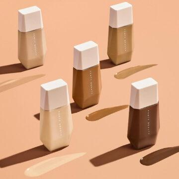 Fenty Beauty Eaze Drop Blurring Skin Tint Some Shades Closed With Swatches Promo