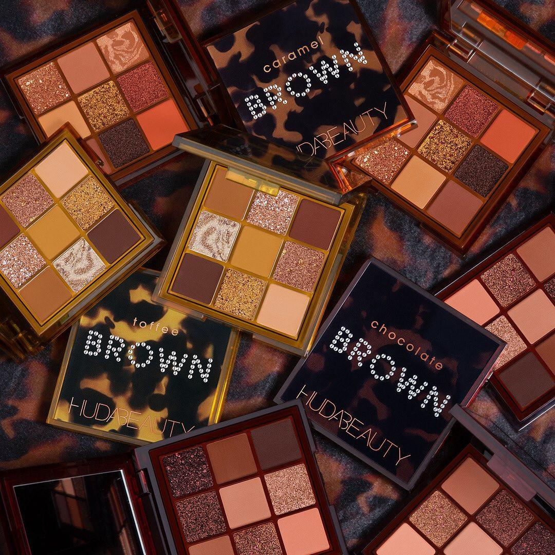 Huda Beauty Brown Obsessions Collection Promo Palettes Open & Closed Post Cover