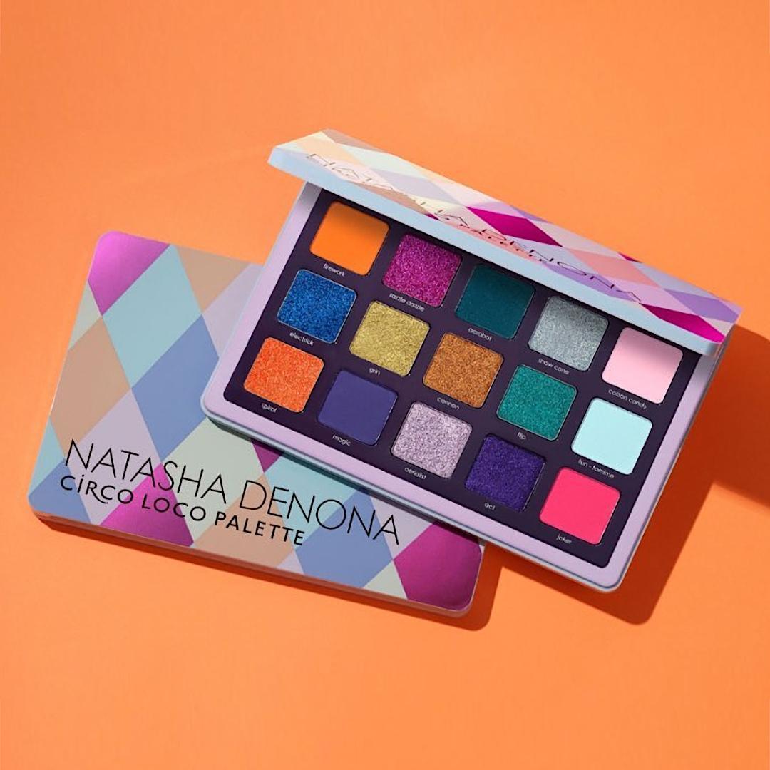 Natasha Denona Circo Loco Palette Open & Closed Promo Orange