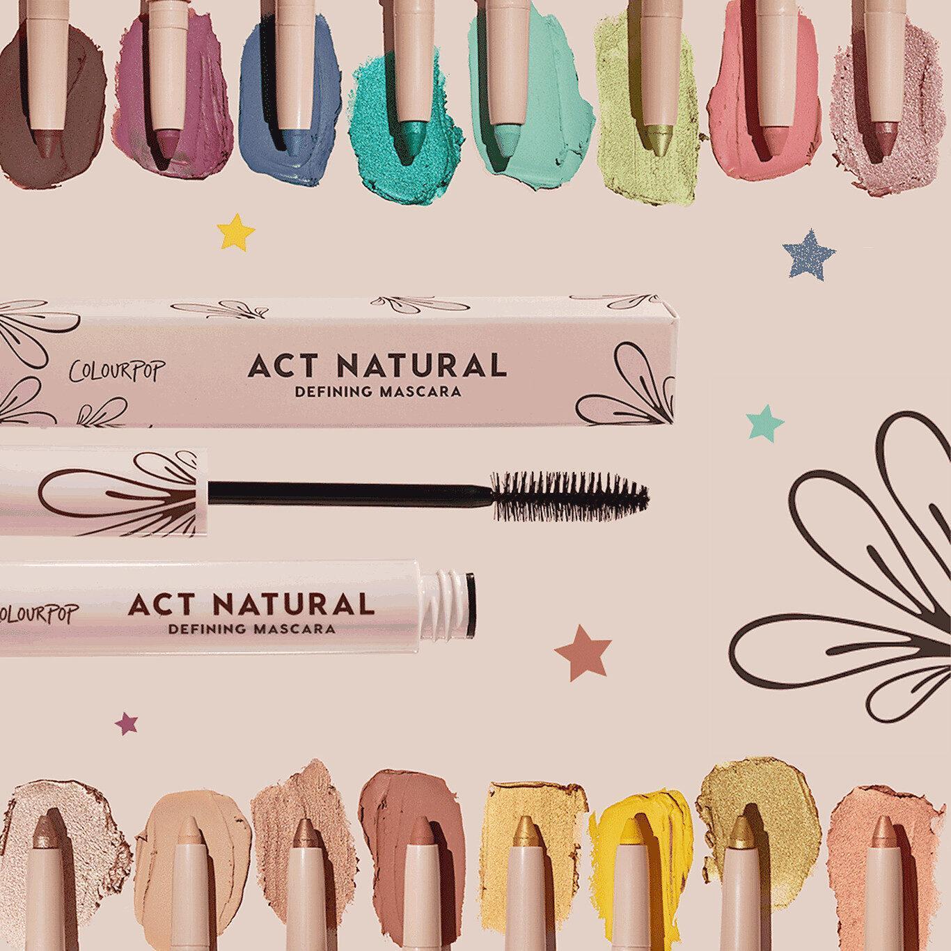 ColourPop Cosmetics Act Natural Defining Mascara & Eyeshadow Stixs Post Cover