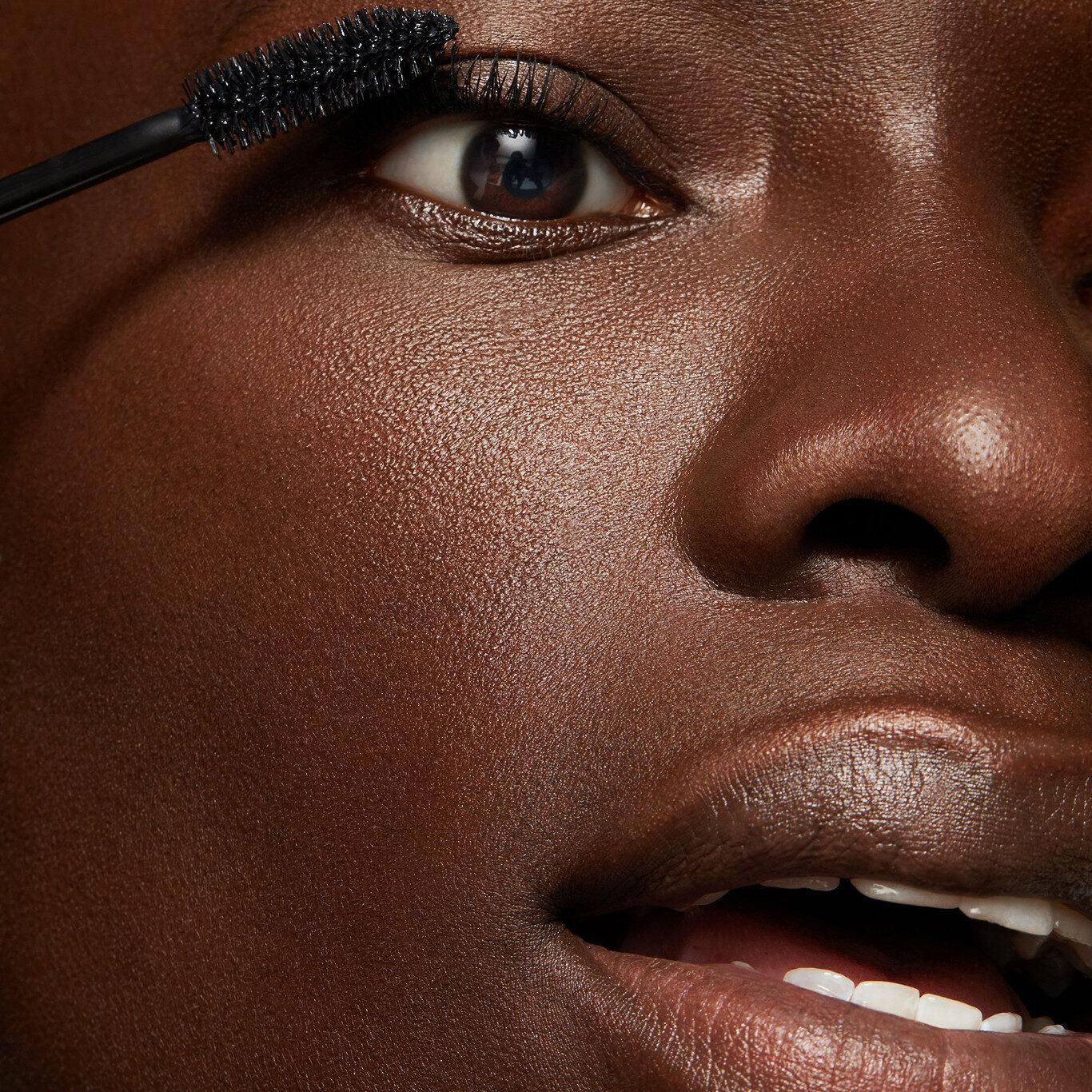 ColourPop Cosmetics Act Natural Defining Mascara In Black Model