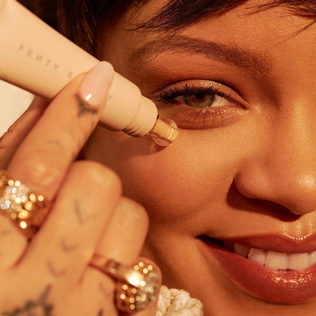 Fenty Beauty Bright Fix Eye Brightener Promo Rihanna