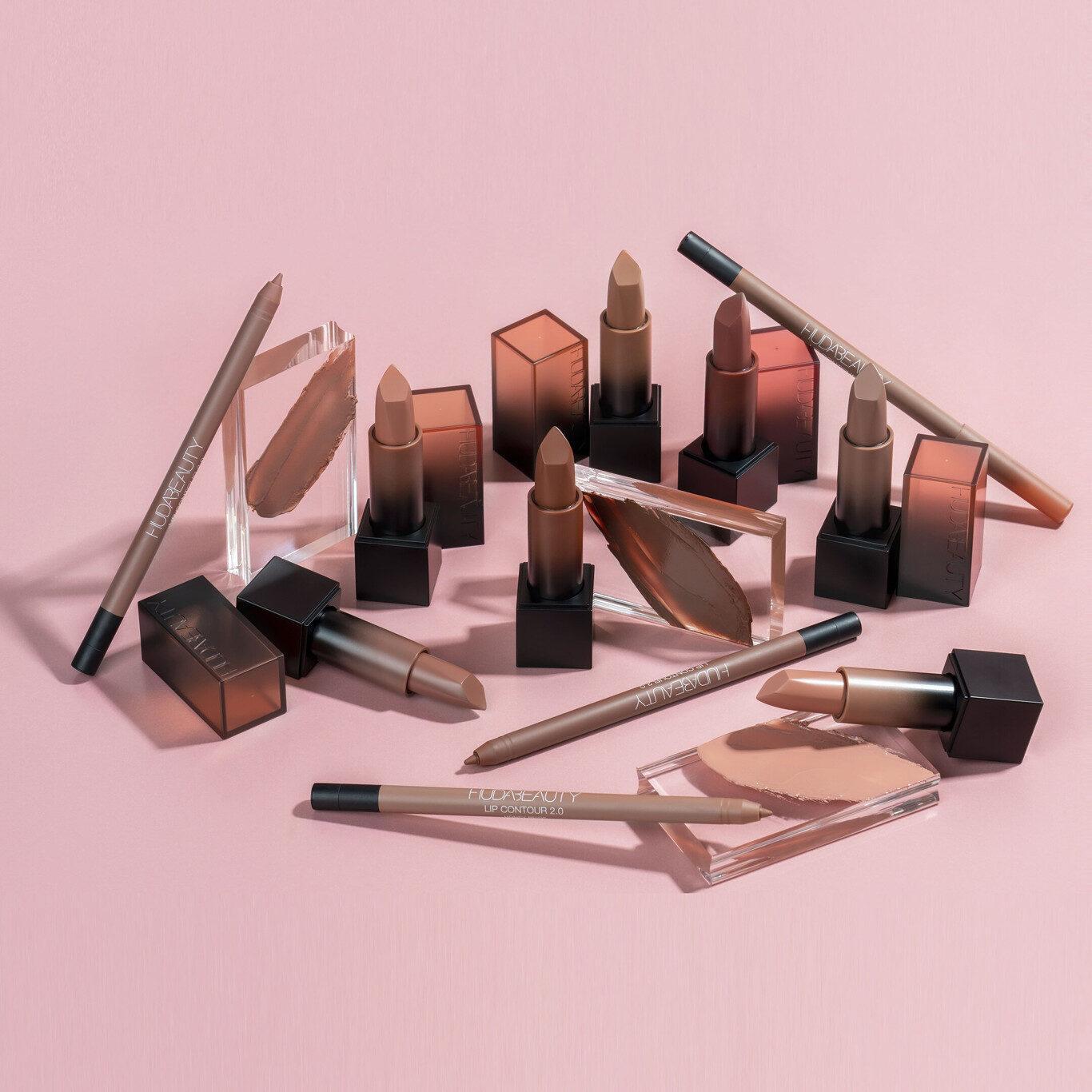Huda Beauty Power Bullet Cream Glow & Lip Contour 2.0 Promo