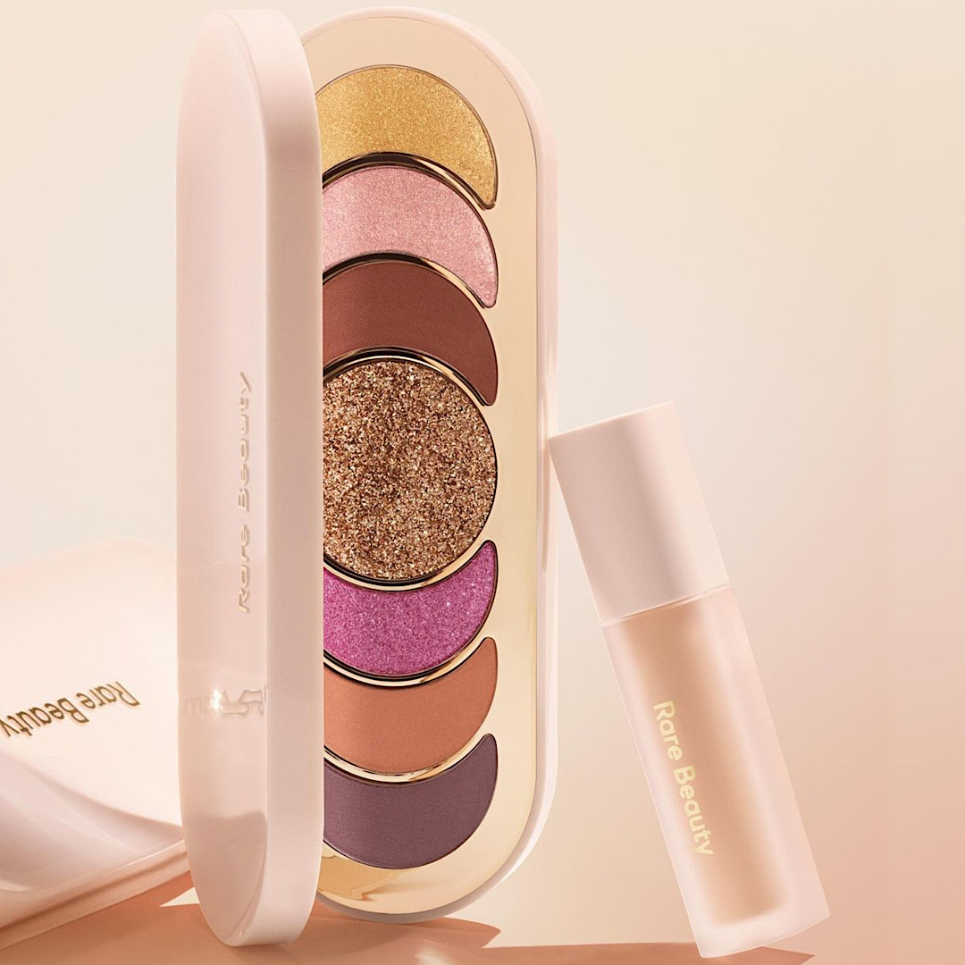 Rare Beauty Discovery Eyeshadow Palette In True To Myself & Always An Optimist Weightless Eye Primer Promo Post Cover