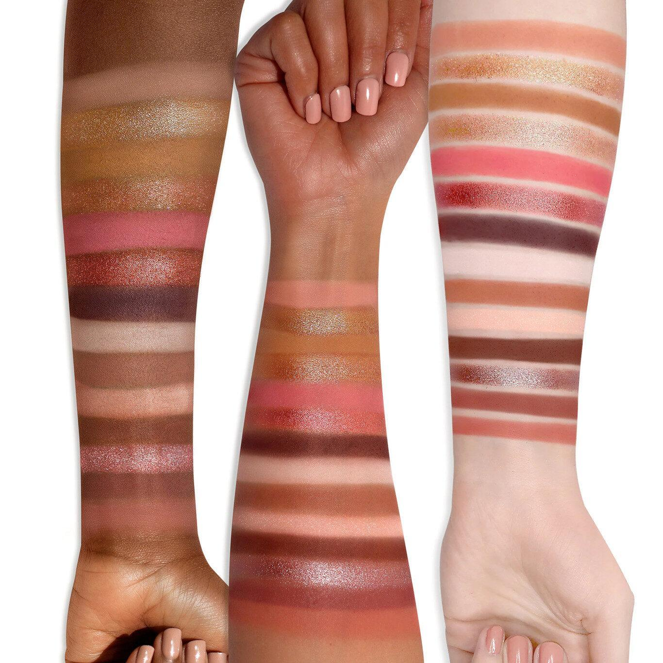Too Faced Teddy Bare Collection Teddy Bare It All Eye Shadow Palette Arm Swatches