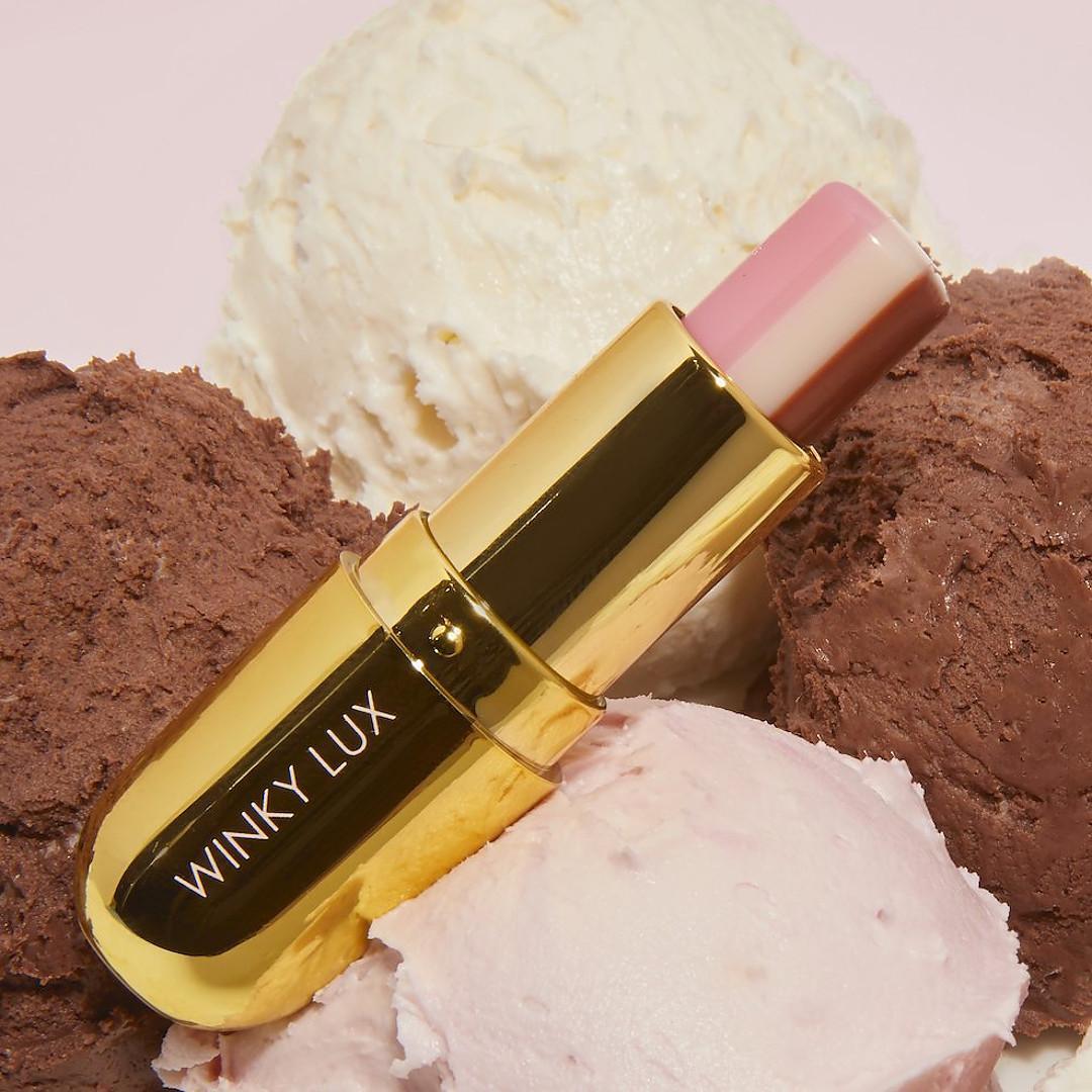 Winky Lux Neapolitan Balm Promo Icecream Open