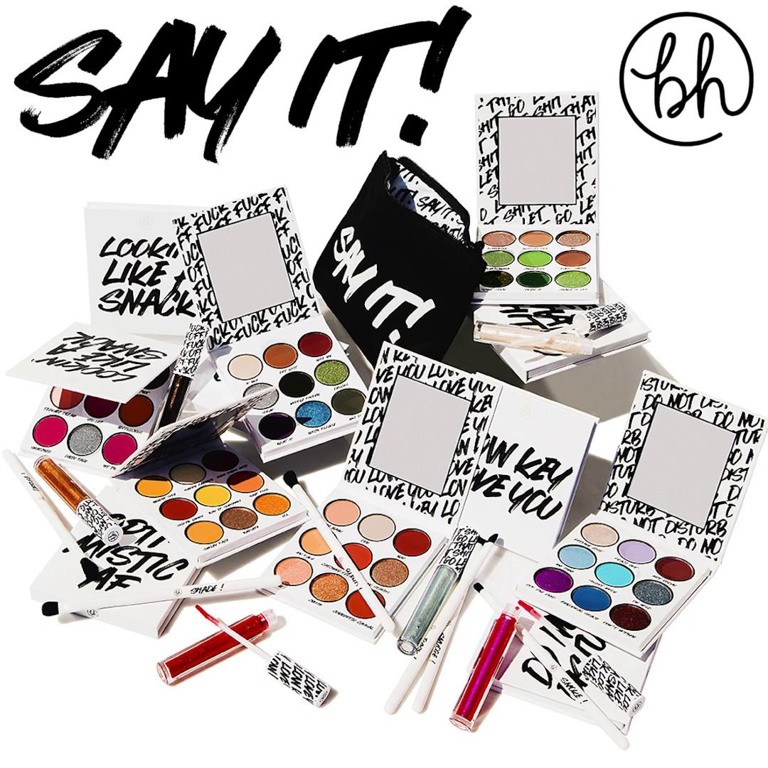 BH Cosmetics Say It! Collection Post Cover