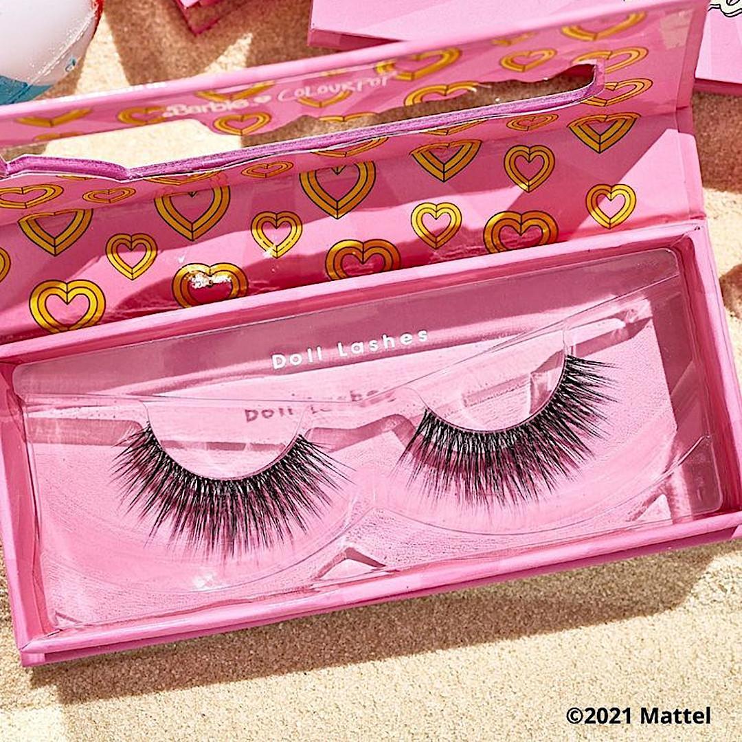 ColourPop x Malibu Barbie Doll Lashes Promo Stories