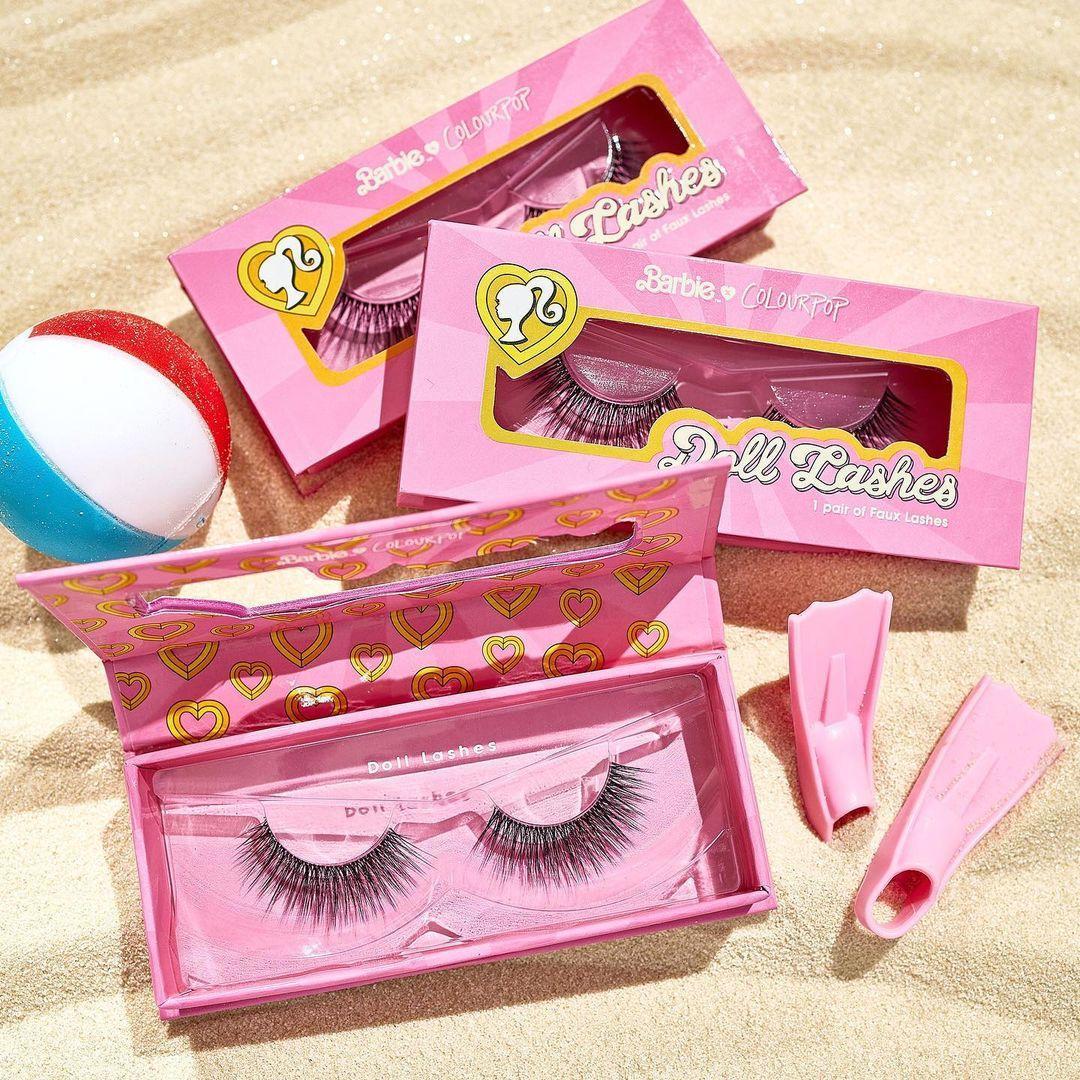 ColourPop x Malibu Barbie Doll Lashes Promo