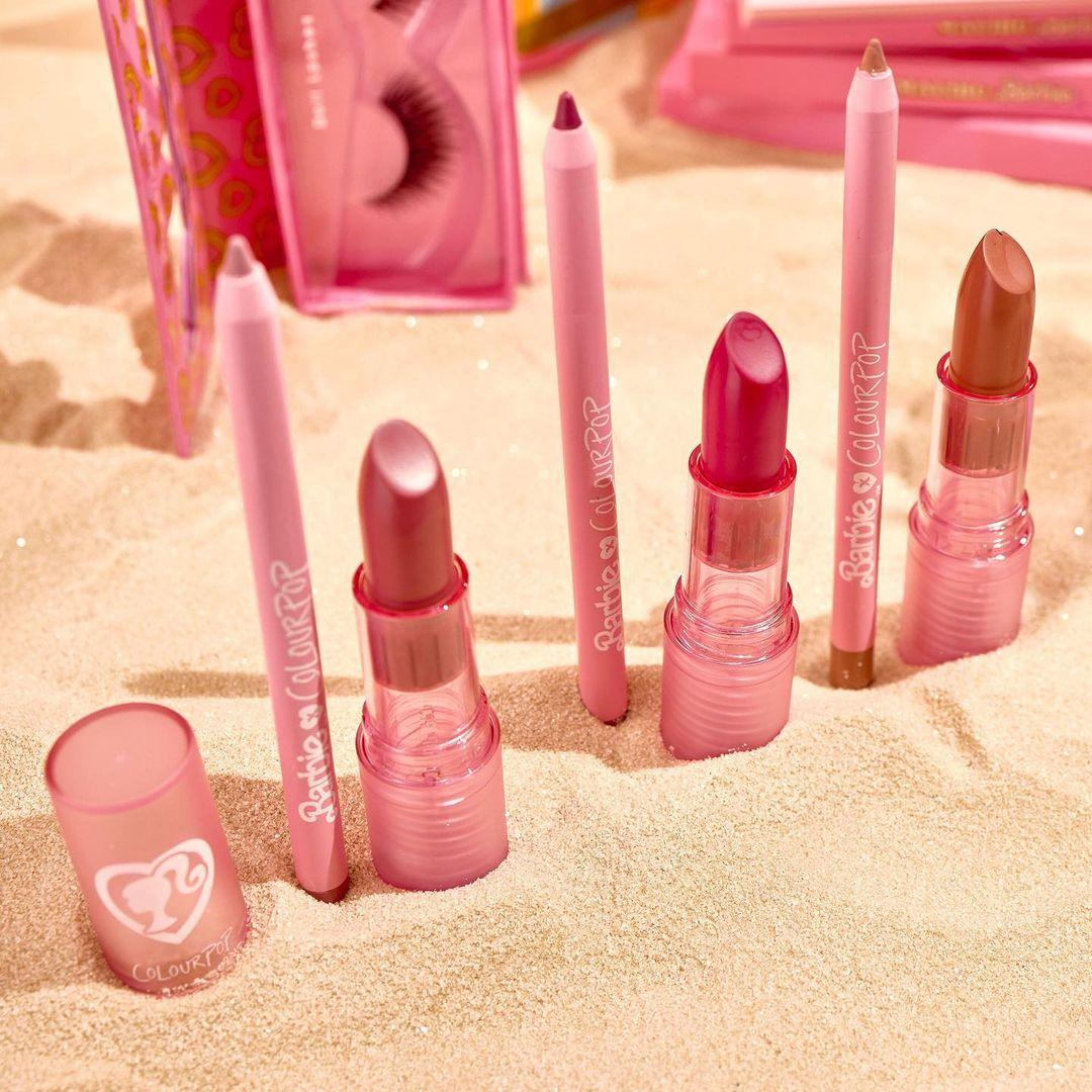 ColourPop x Malibu Barbie Lip Kits Promo Close Up