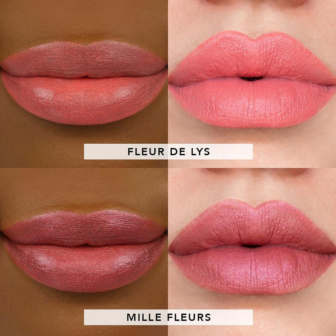Jouer Cosmetics French Riviera Collection French Riviera Blush & Bloom Cheek + Lip Duo In Côte de Provence Lip Swatches