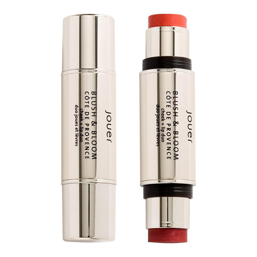 Jouer Cosmetics French Riviera Collection French Riviera Blush & Bloom Cheek + Lip Duo In Côte de Provence Open & Closed