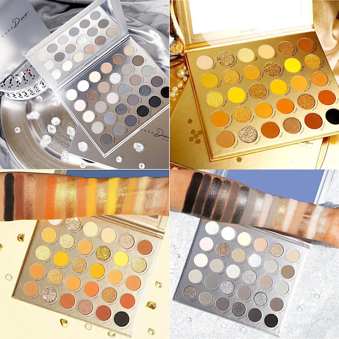 Kara Beauty Goddess Nem & Cleo Queen Shadow Palettes Post Cover