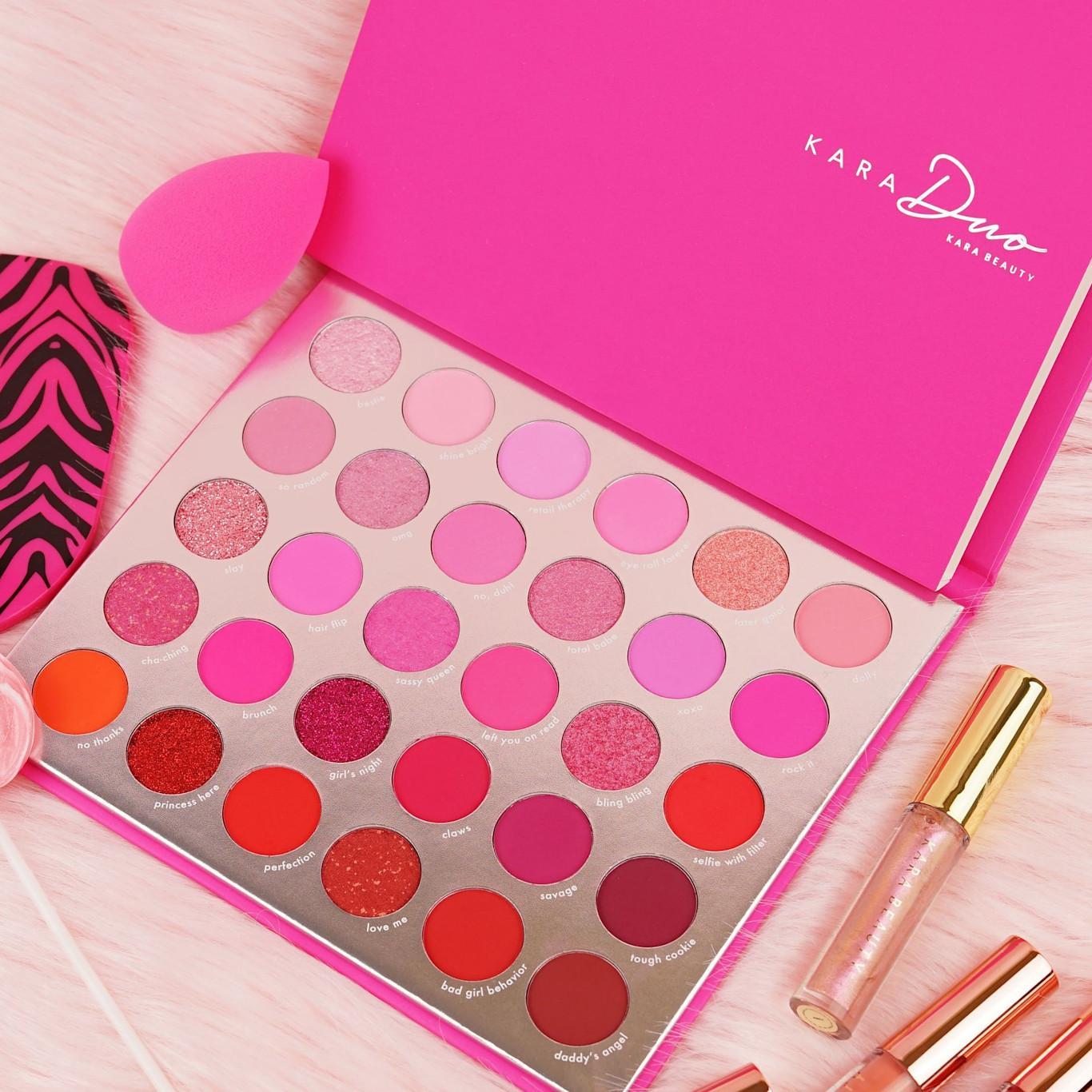Kara Beauty PRO17 Like Totally! Shadow Palette Post Cover