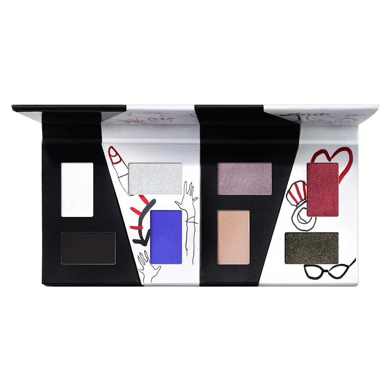 MAC x Disney Cruella Eyeshadow Palette Cruella To Be Kind