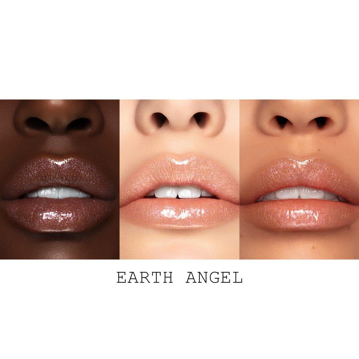 Pat McGrath Divine Blush Collection Lust Gloss™ in Earth Angel Lip Swatch