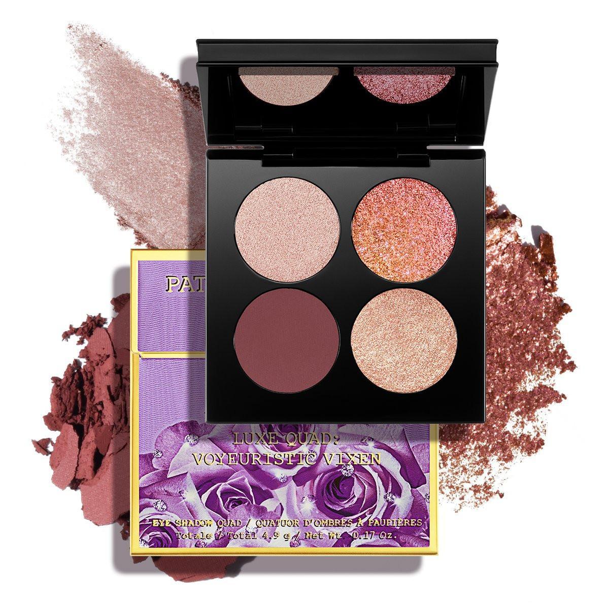Pat McGrath Divine Blush Collection Venus in Fleurs Luxe Quad Voyeuristic Vixen With Crushes