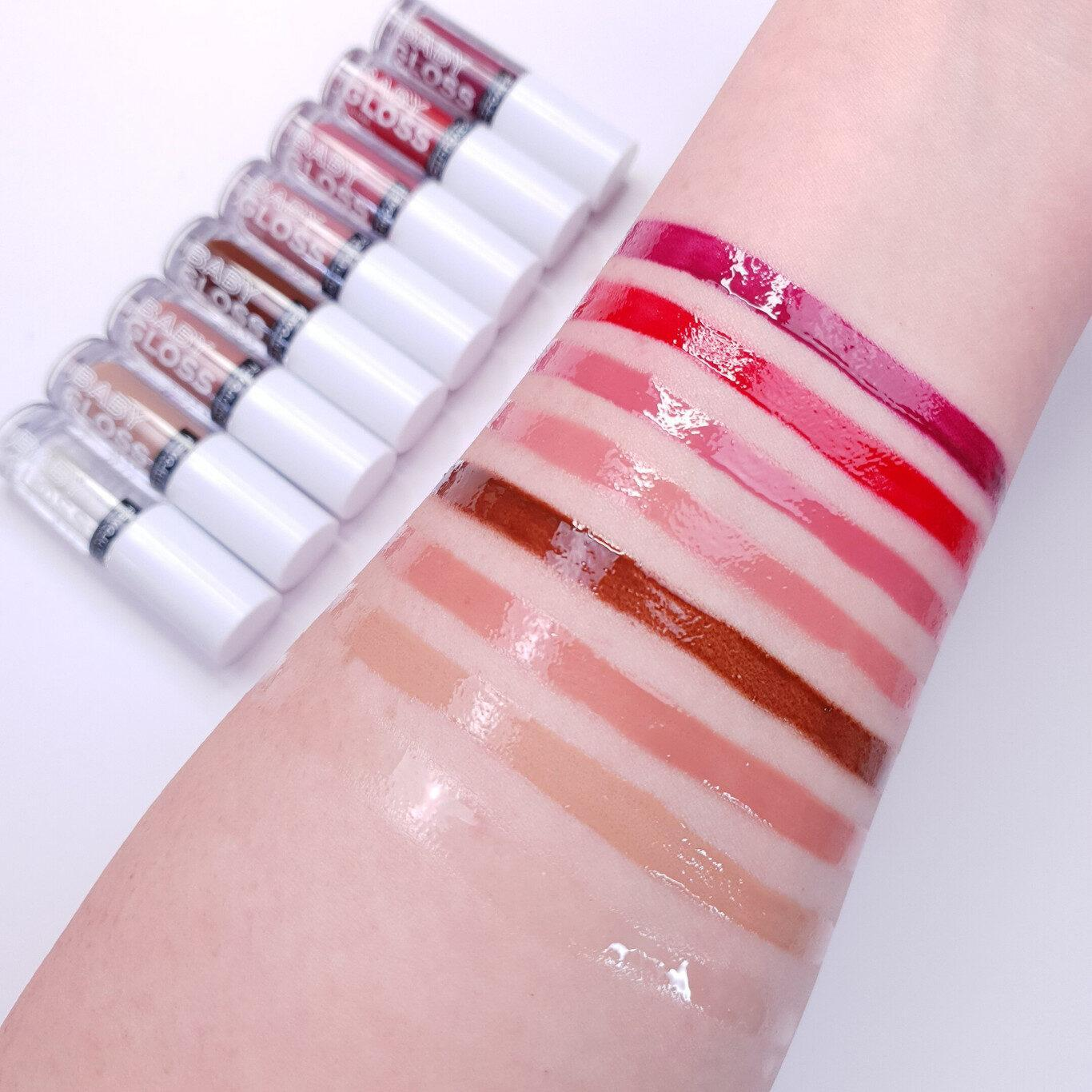 ReLove by Revolution Baby Gloss Lip Arm Swatches
