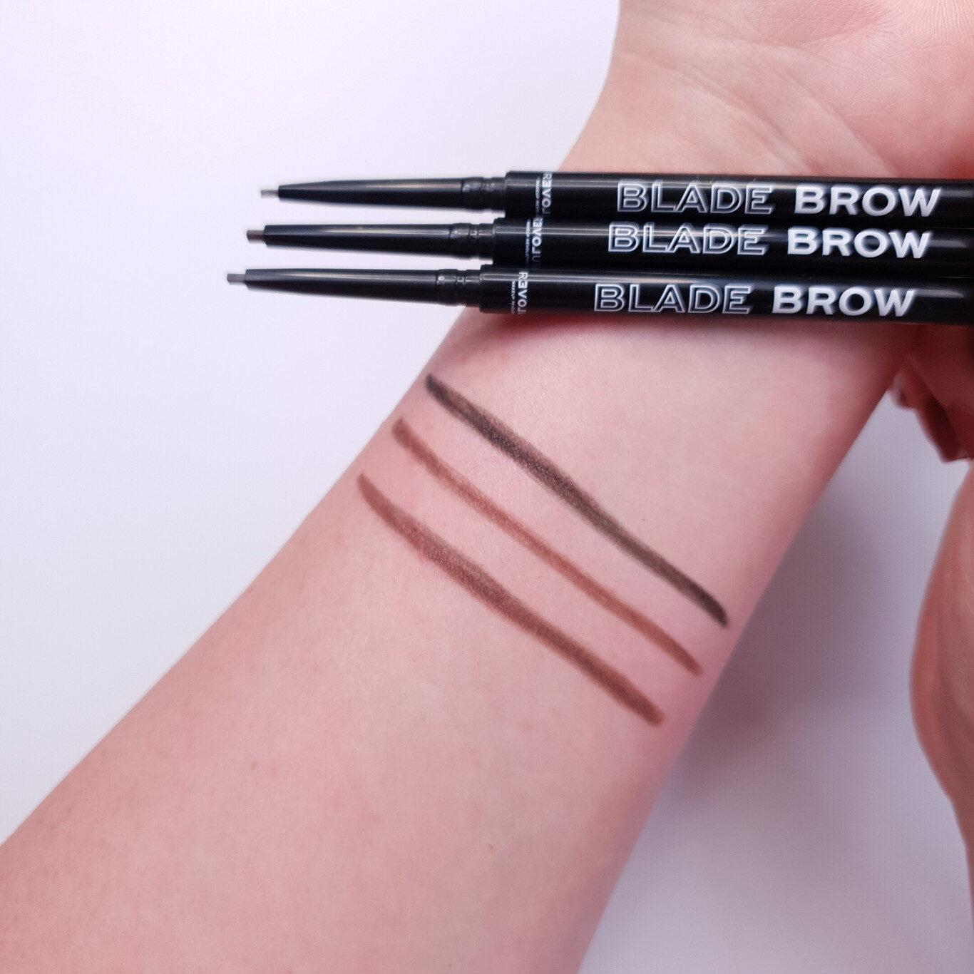 ReLove by Revolution Blade Brow Pencil Arm Swatches