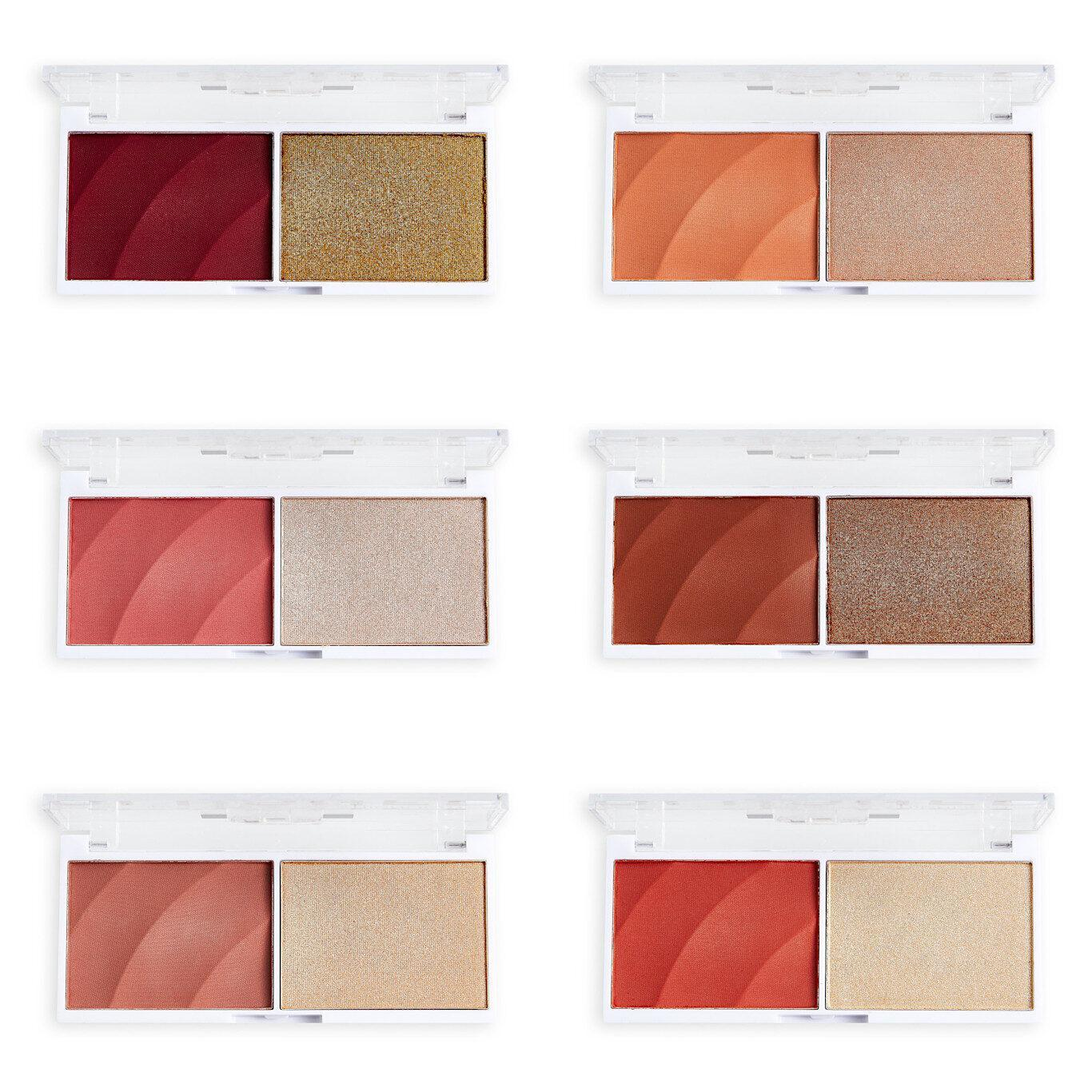 ReLove by Revolution Colour Play Blushed Duo