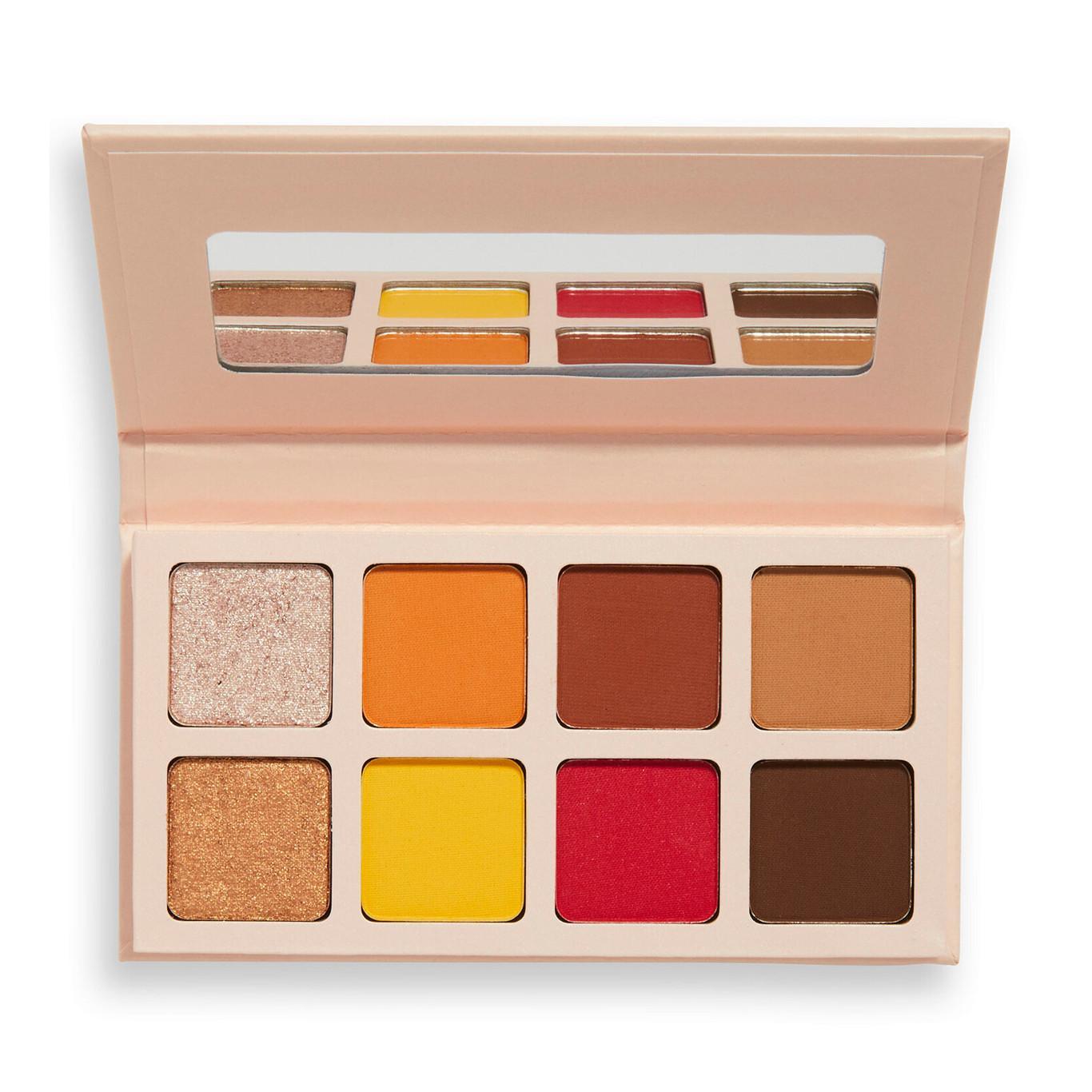 Revolution x Soph Collection Round 3 Mini Spice Eyeshadow Palette Open