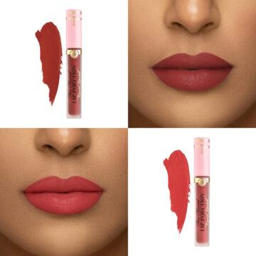 Too Faced Lip Injection Liquid Lipsticks In Large & In Charge & Plump You Up