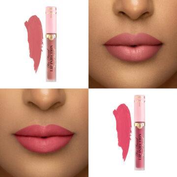 Too Faced Lip Injection Liquid Lipsticks In Size Queen & Va Va Voom