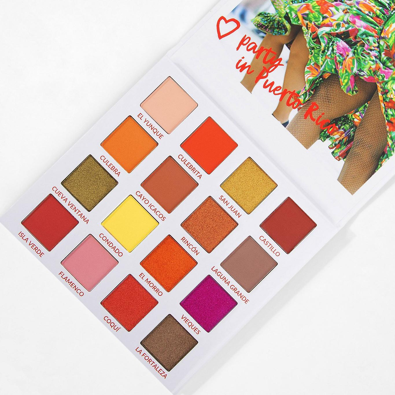 BH Cosmetics Travel Series Party In Puerto Rico Open Angled