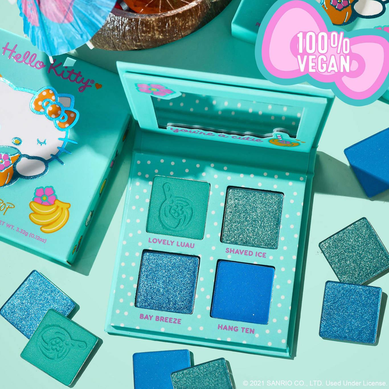 ColourPop x Hello Kitty Tropical Escape Collection Eyeshadow Palette In Coco Cutie