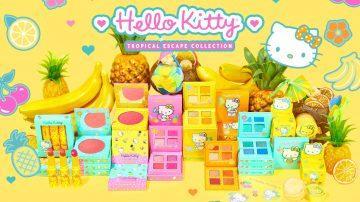 Colección Hello Kitty Tropical Escape de Colourpop