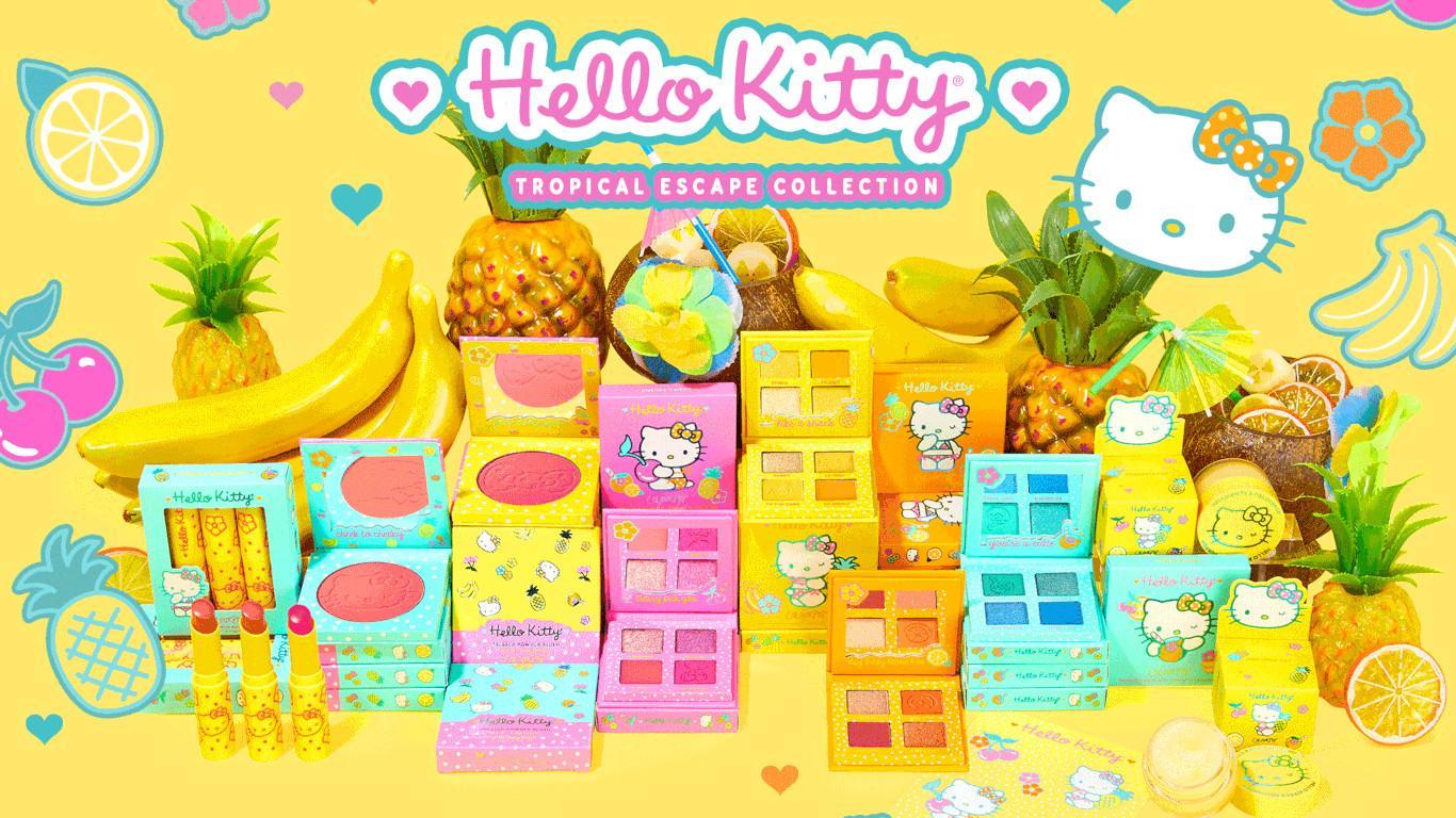 ColourPop x Hello Kitty Tropical Escape Collection Post Cover Blog