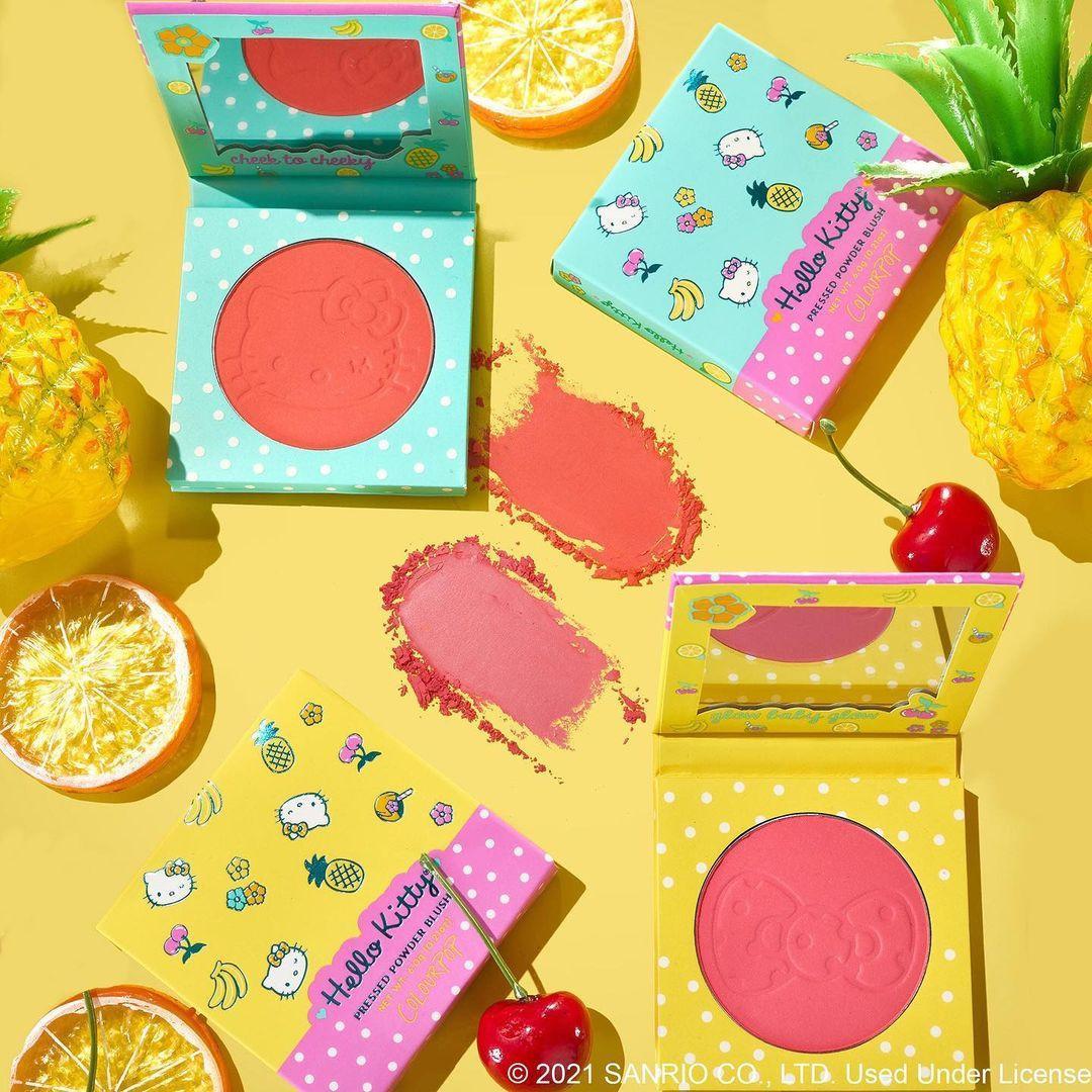 ColourPop x Hello KittyPressed Powder Blushes