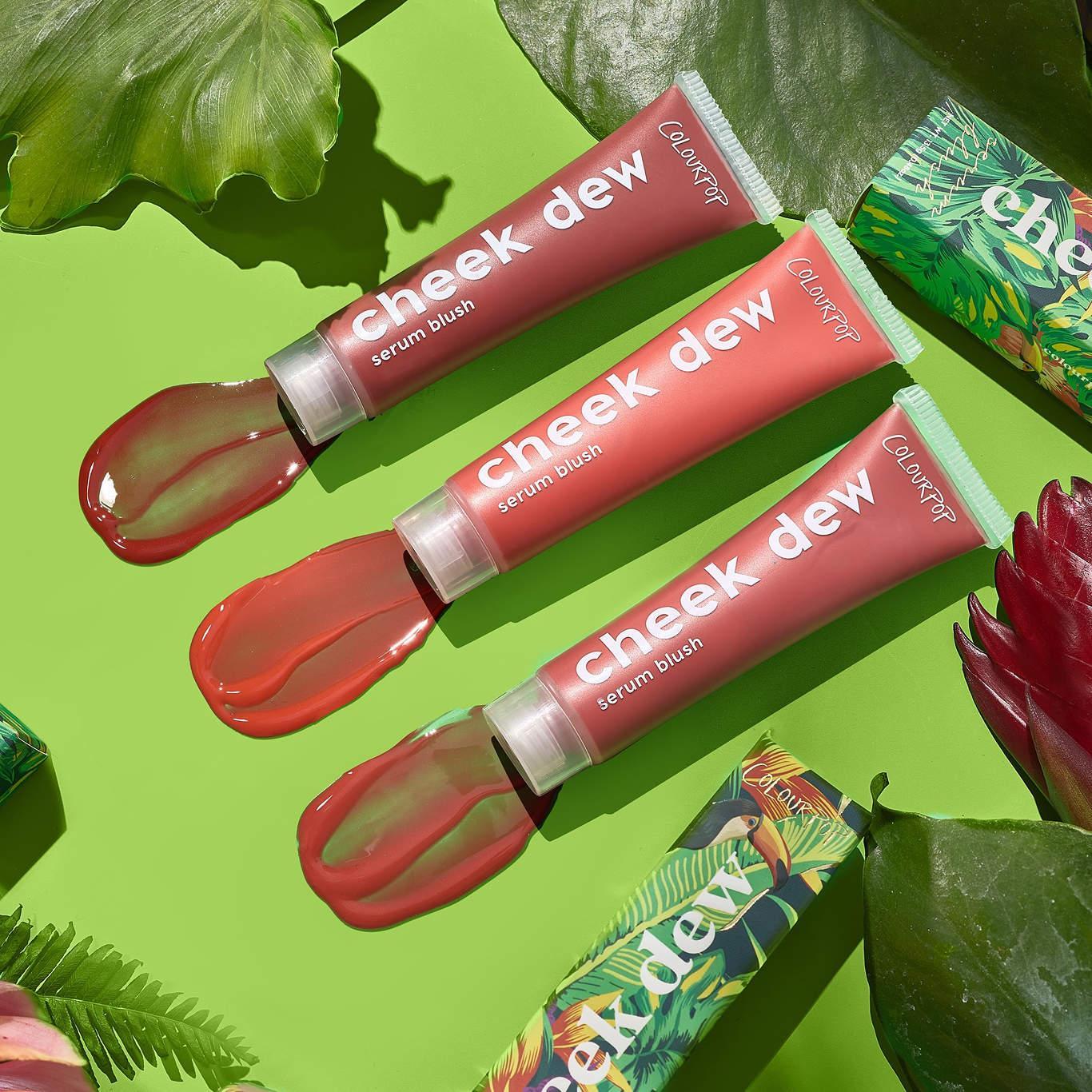 Colourpop Lush Life Collection Cheek Dew Serum Blush Promo