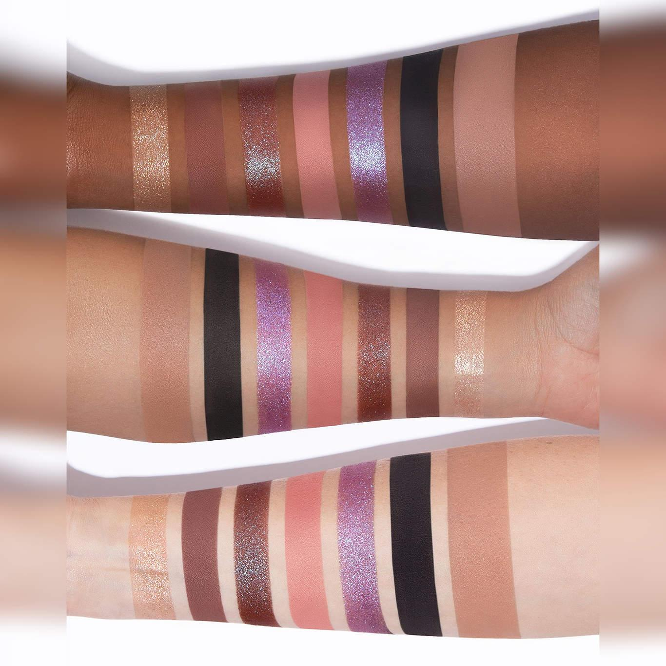 Dose Of Colors Donald Duck & Daisy Duck Collection Donald & Daisy Eyeshadow + Bronzer Palette Arm Swatches