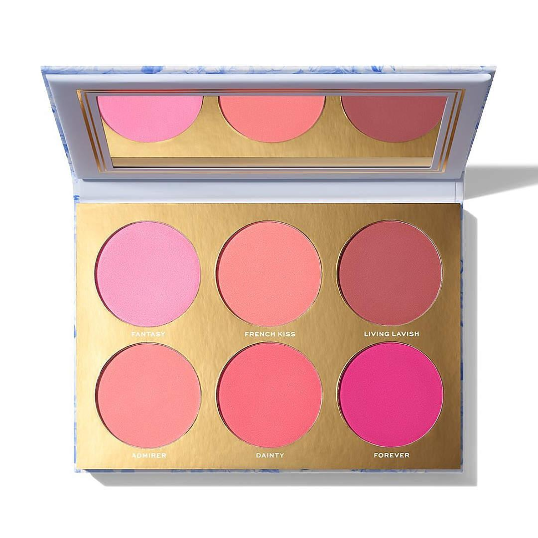 Jaclyn Cosmetics Bougie Rouge Collection Rouge Romance Matte Blush Palette Rouge Affair Open