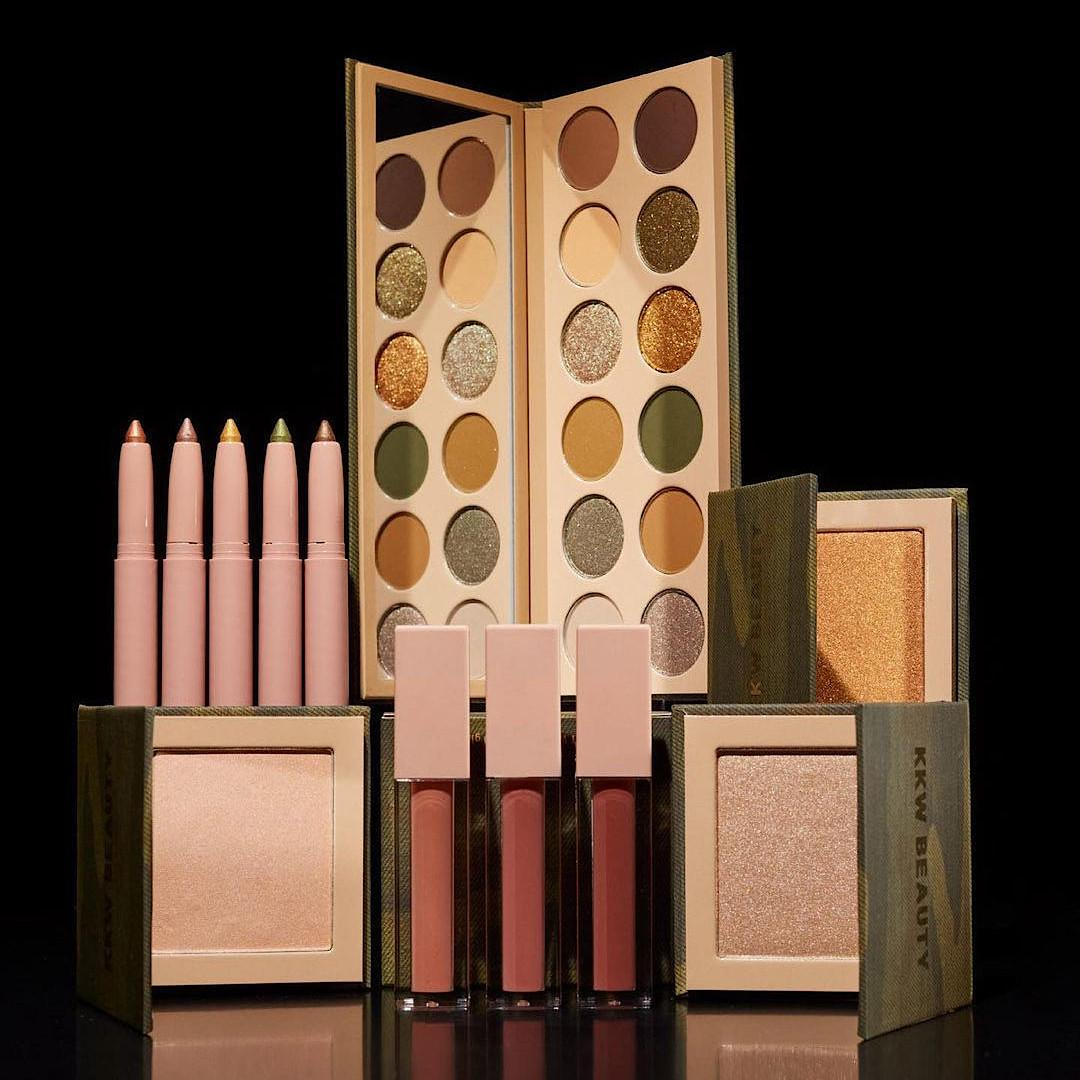 KKW Beauty Camo Collection Promo Post Cover