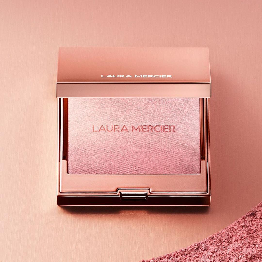 Laura Mercier RoseGlow Collection Highlighting Powder Promo