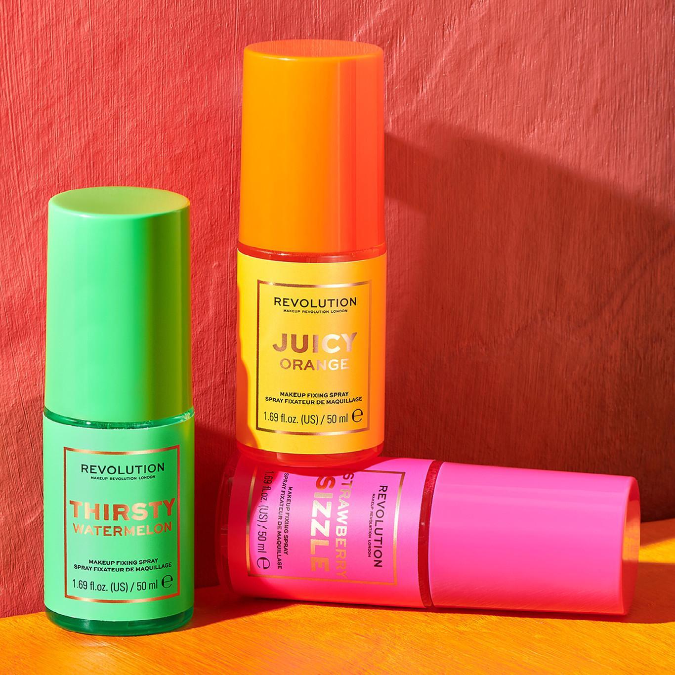 Makeup Revolution Neon Heat Misting Sprays Promo
